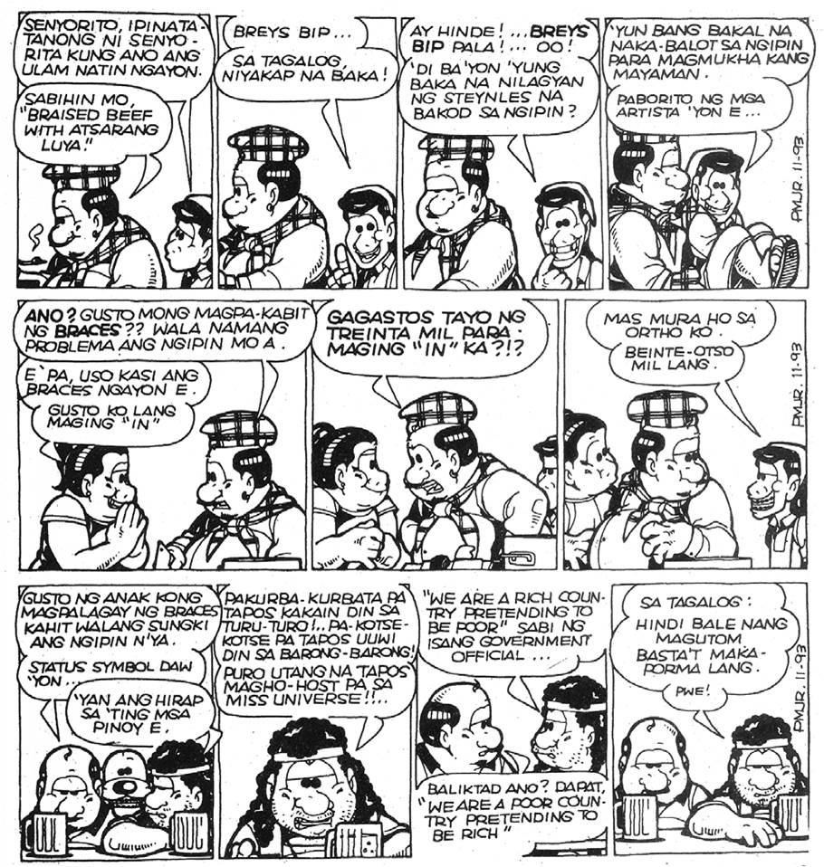Here The Copy Pol Medina Strip