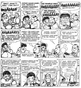 Pimples, Comic Strip by Pol Medina, Jr. | Philippine Literature