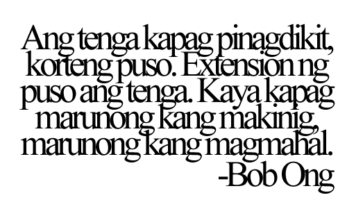 bob ong quote